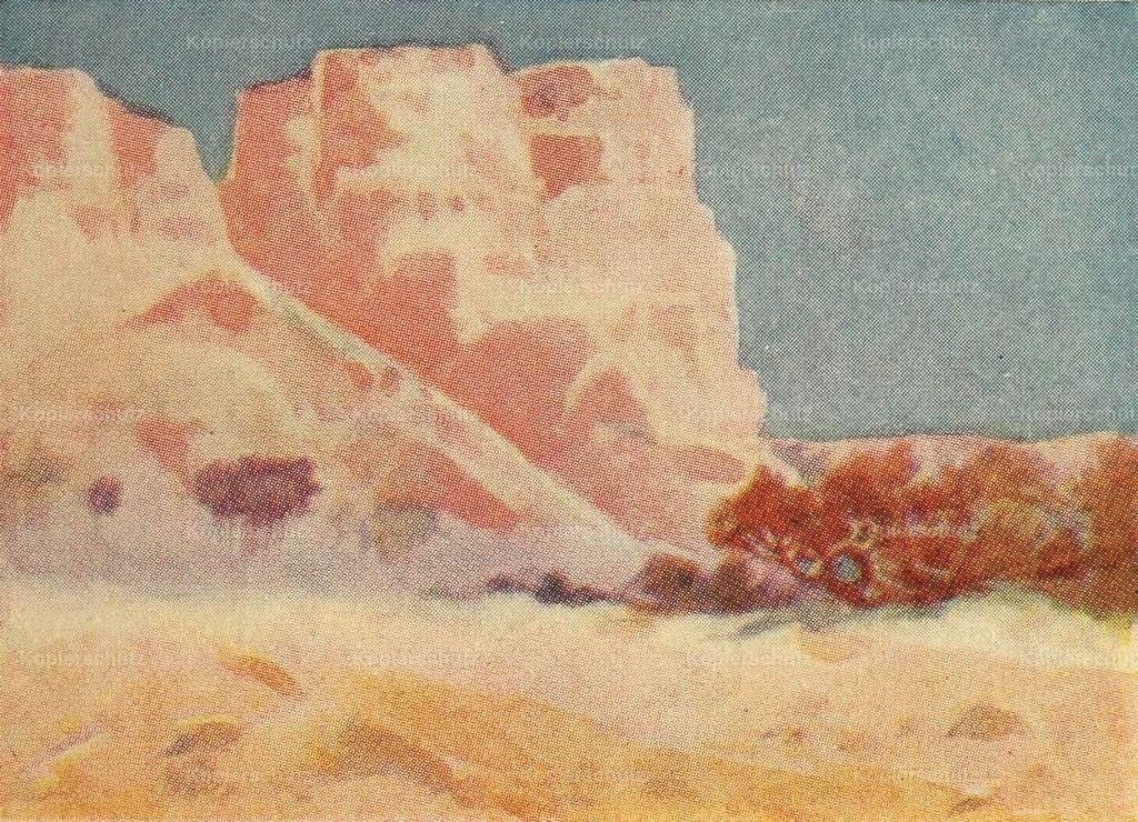Lamplough_ A.O. (1877-1930) - Egypt _ how to see it 1907 - Hills at Dabbeh