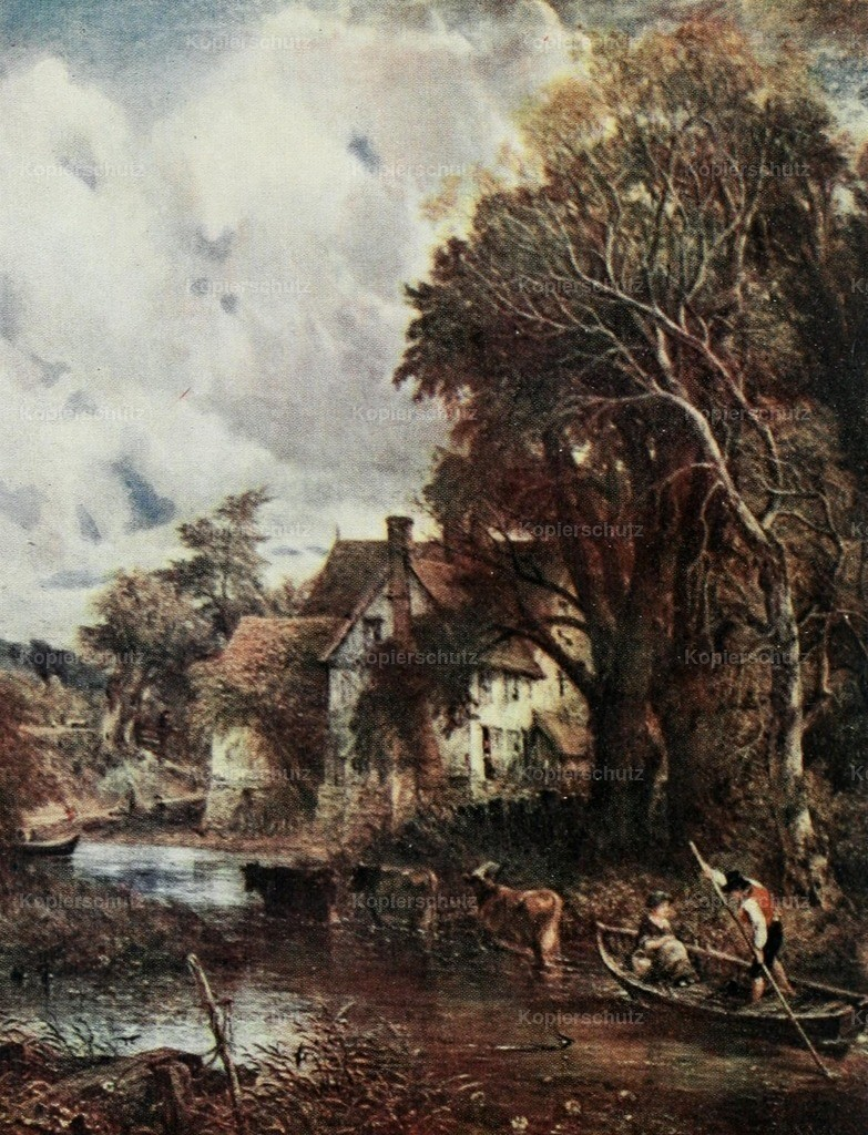 Constable_ John (1776-1837) - The Valley Farm - Constable 1909