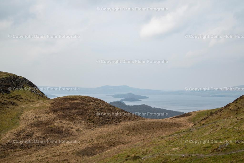 Blick auf Loch Lomond | Blick auf Loch Lomond vom Conic Hill