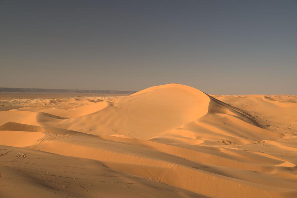 Sahara Düne | In der algerischen Sahara