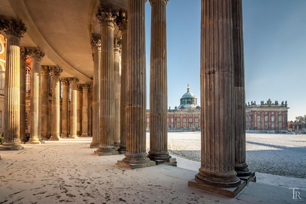 Neues Palais im Winter