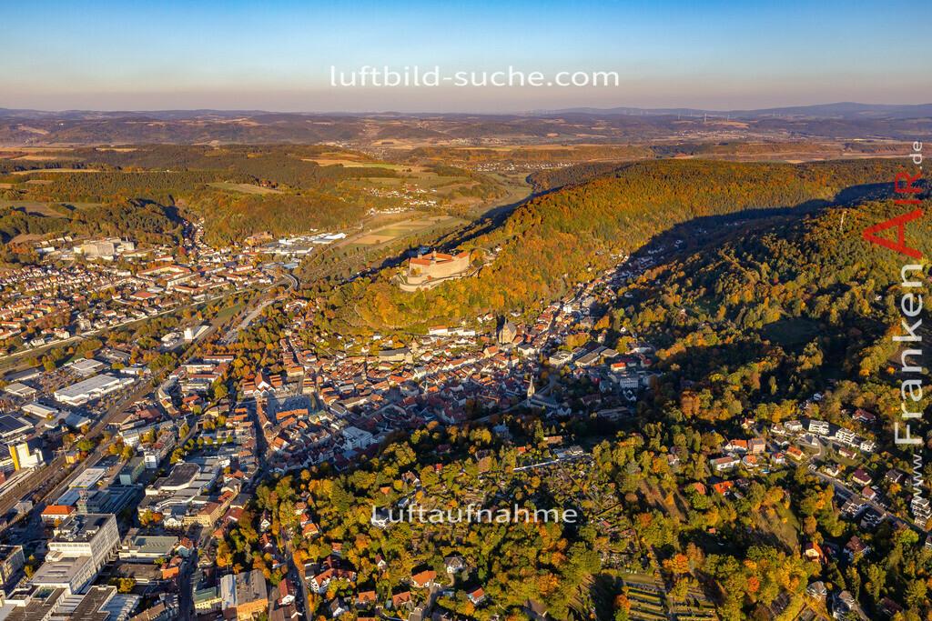 obere-stadt-kulmbach-18-371   aktuelles Luftbild von Obere-stadt Kulmbach - Luftaufnahme wurde 2018 von https://frankenair.de mittels Flugzeug (keine Drohne) erstellt.