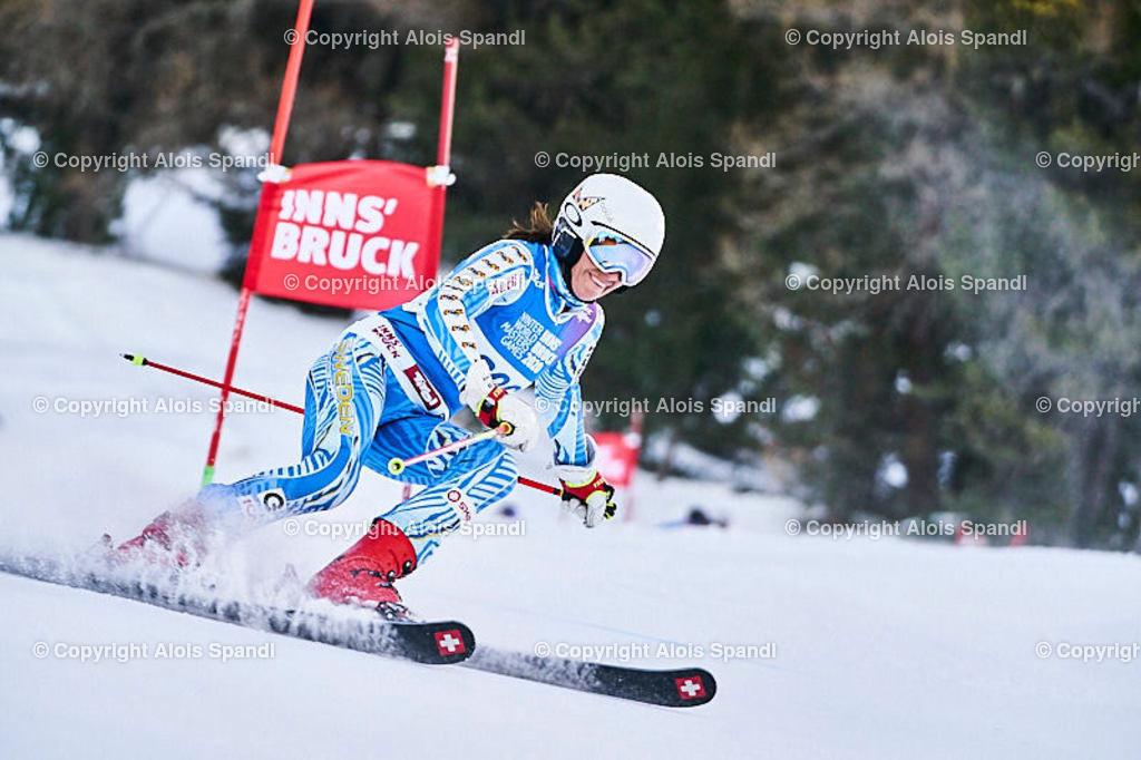ALS5662_WWMG_GS-II_C | (C) FotoLois.com, Alois Spandl, WinterWorldMastersGames 2020 Innsbruck, Giant Slalom-II Gruppe C Damen, Patscherkofel Olympiaabfahrt, Mi 15. Jänner 2020.