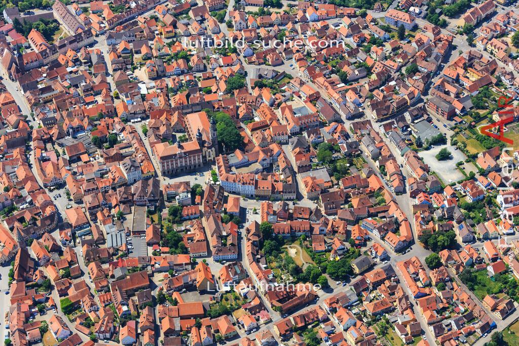 bad-windsheim-2015-1603   Luftbild von  Bad-windsheim - Luftaufnahme wurde 2015 von https://frankenair.de mittels Flugzeug (keine Drohne) erstellt - die Geschenkidee