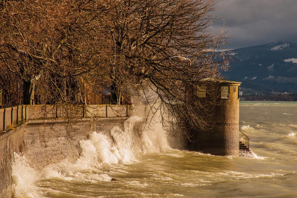 Sturm bei der Karlsbastion