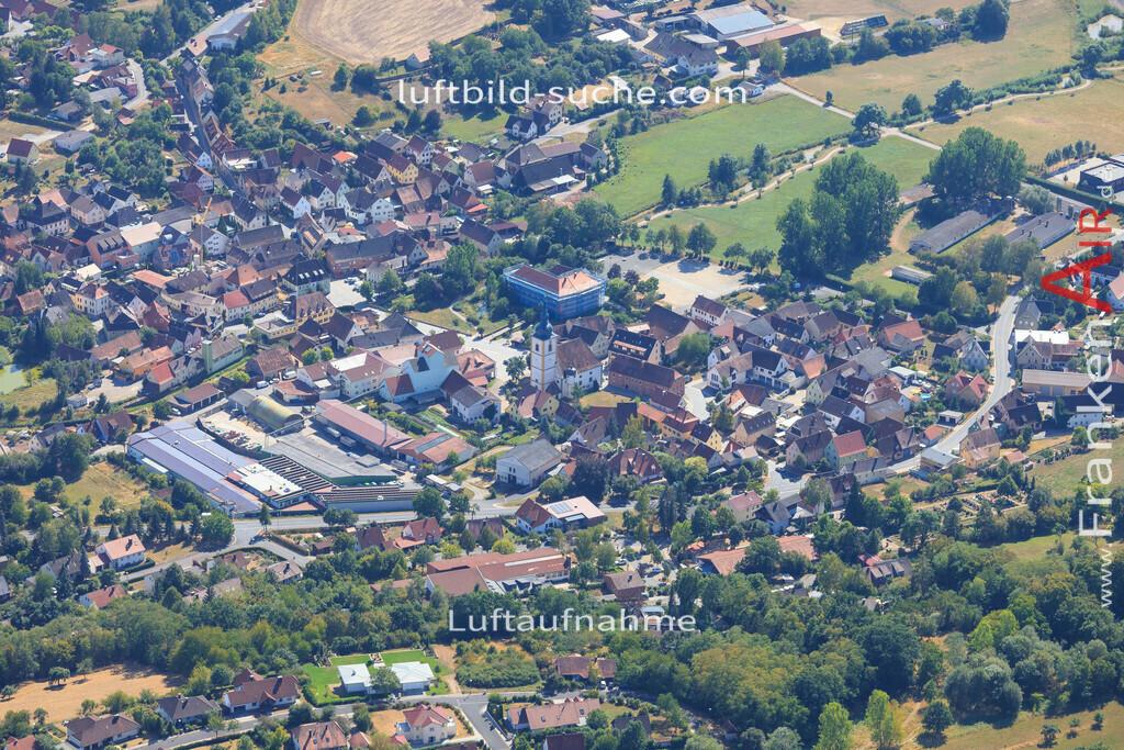 luftbild-schluesselfeld-2015-4986 | Luftbild von  Schluesselfeld - Luftaufnahme wurde 2015 von https://frankenair.de mittels Flugzeug (keine Drohne) erstellt - die Geschenkidee
