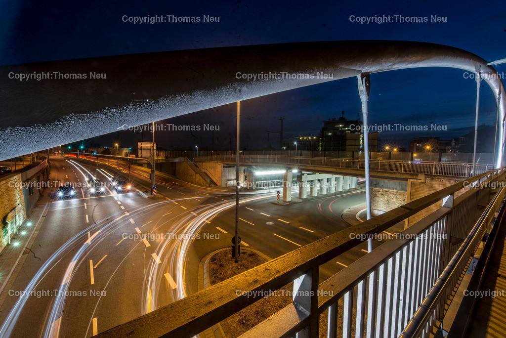 Brücke | Bensheim,Bruecke, Bergstrasse  bei nacht, Bild: Thomas Neu