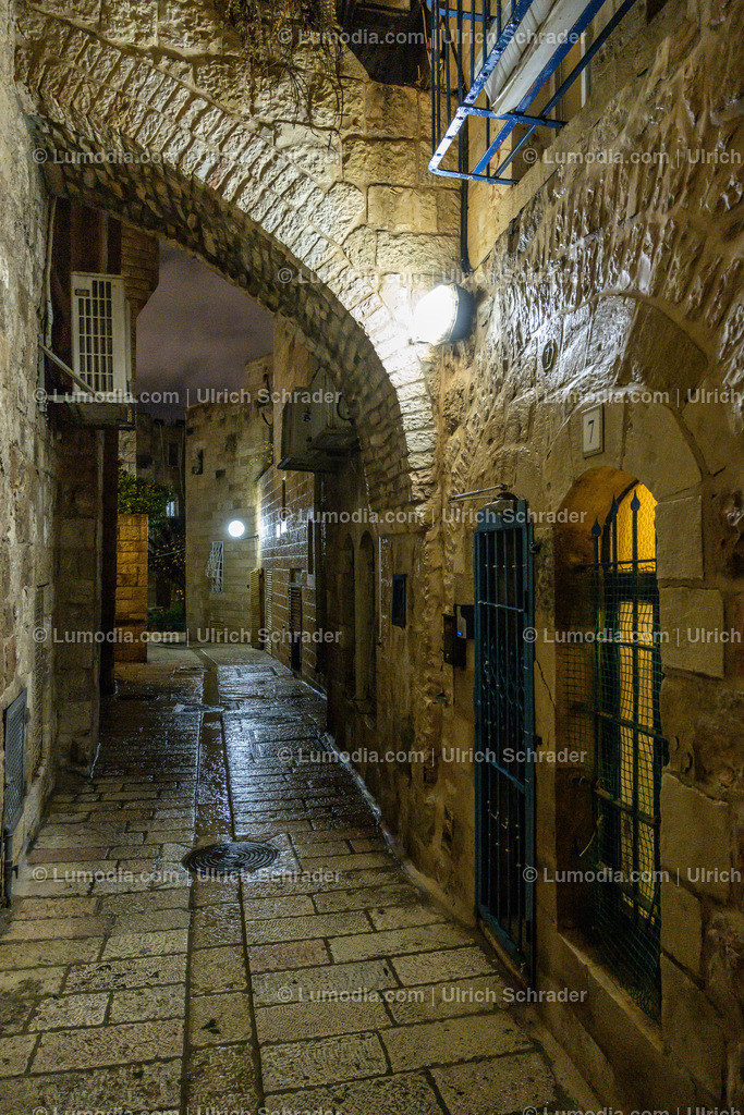 10972-10070 - Jerusalem _ Regentag im Winter