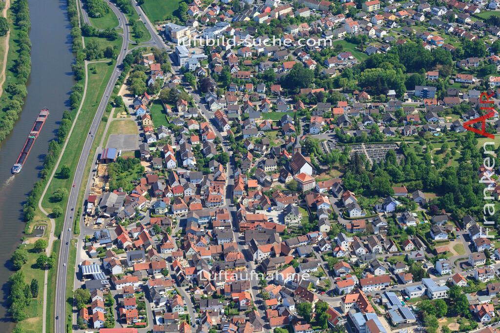 bischberg-18-333   aktuelles Luftbild von  Bischberg - Luftaufnahme wurde 2018 von https://frankenair.de mittels Flugzeug (keine Drohne) erstellt.