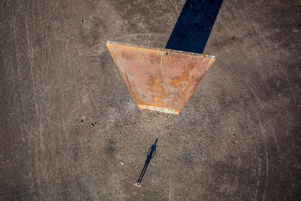 JT-130906-011 | Schurenbachhalde, Kunstwerk des britischen Kuenstlers Richard Serra,