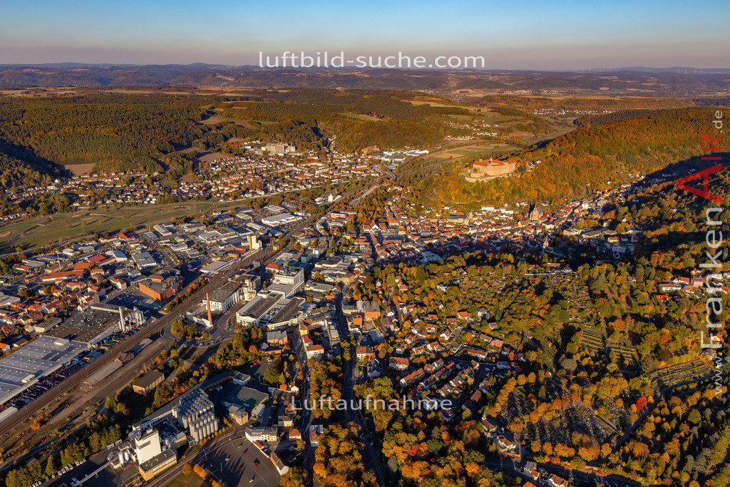 blaich-kulmbach-18-370   aktuelles Luftbild von Blaich Kulmbach - Luftaufnahme wurde 2018 von https://frankenair.de mittels Flugzeug (keine Drohne) erstellt.