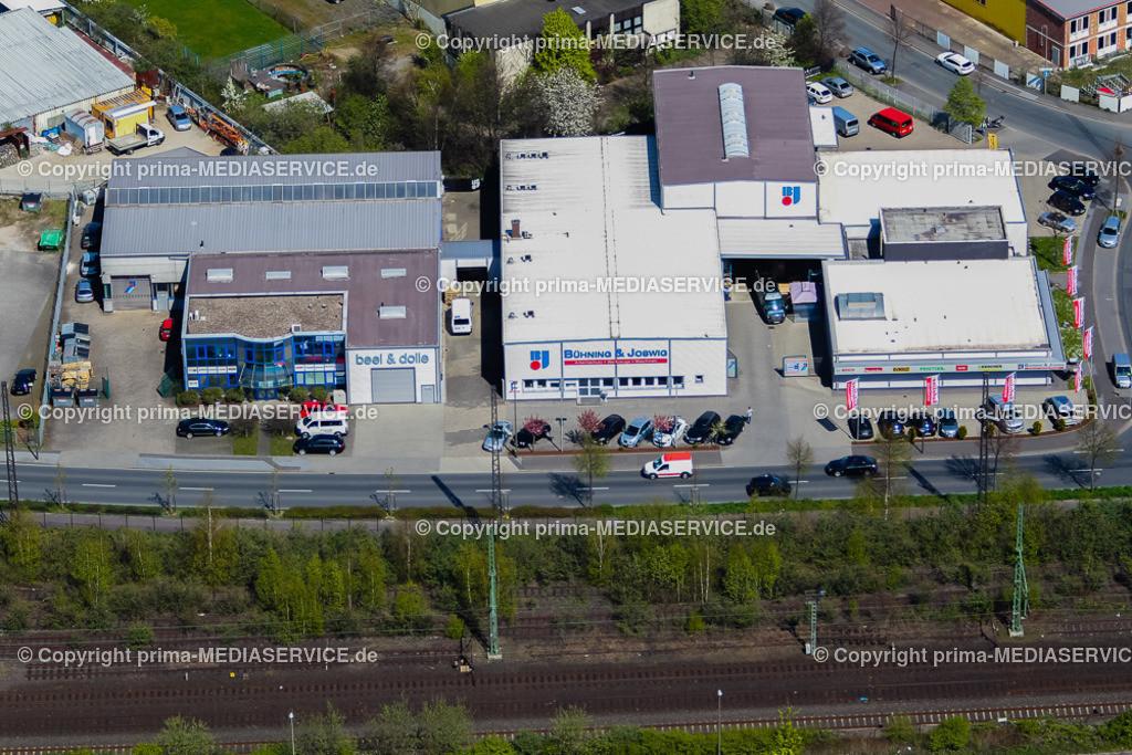 IMGL1648 | Luftbild Bühning & Joswig GmbH 21.04.2015 in Dortmund (Nordrhein-Westfalen, Deutschland).  Foto: Michael Printz / PHOTOZEPPELIN.COM