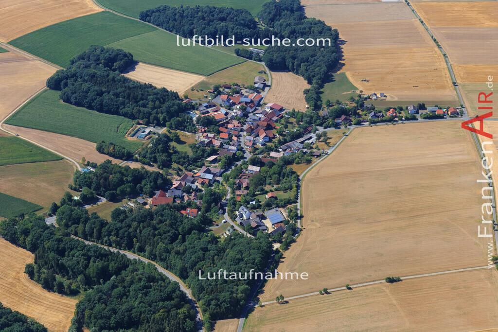 grossheirath-2015-2157 | Luftbild von  Grossheirath - Luftaufnahme wurde 2015 von https://frankenair.de mittels Flugzeug (keine Drohne) erstellt - die Geschenkidee