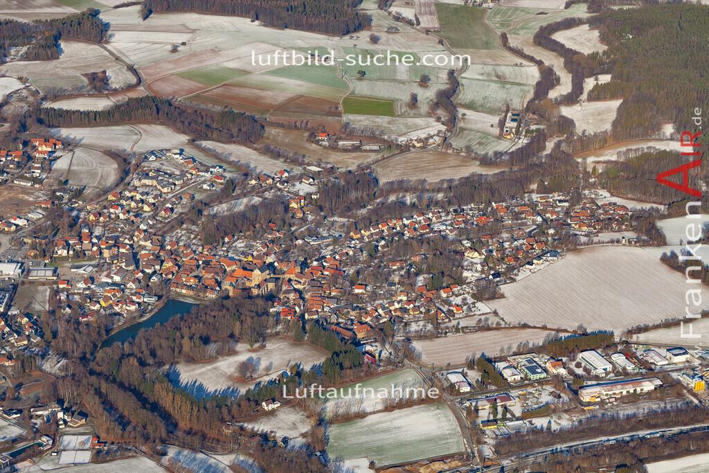 thurnau-19-156 | aktuelles Luftbild von  Thurnau - Luftaufnahme wurde 2019 von https://frankenair.de mittels Flugzeug (keine Drohne) erstellt.
