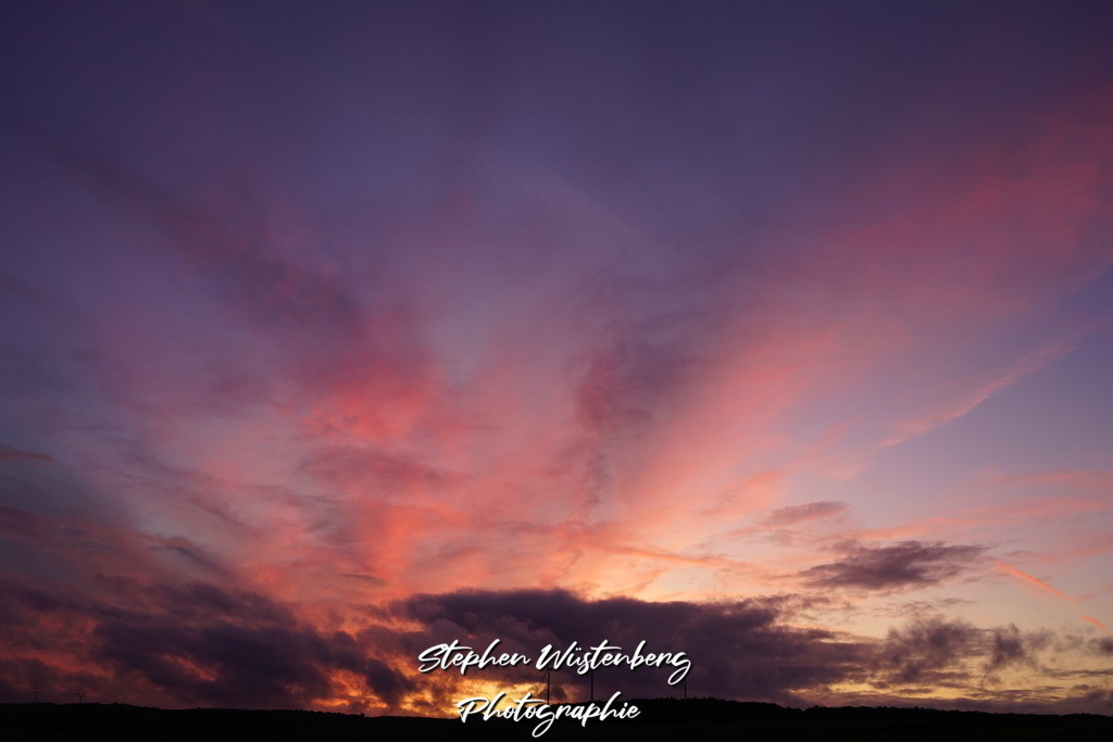 Sunset Imsweiler Flugplatz | Wunderschöner Sonnenuntergang am Flugplatz Imsweiler