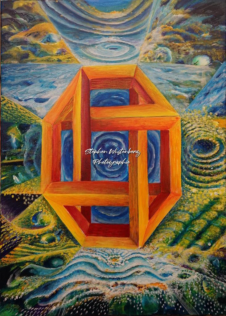 Gingel-0016 Optische Täuschung 2 | Roland Gingel Artwork @ Gravity Boulderhalle, Bad Kreuznach  Bilder dieser Galerie sind noch nicht im Verkauf. Wenn Sie Repros erwerben möchten, finden Sie diese in der Untergalerie