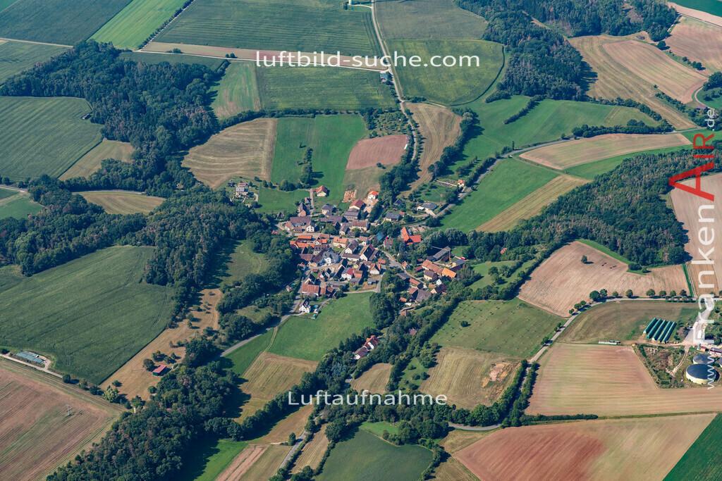 unterschweinach-19-580 | aktuelles Luftbild von Unterschweinach   - Luftaufnahme wurde 2019 von https://frankenair.de mittels Flugzeug (keine Drohne) erstellt.