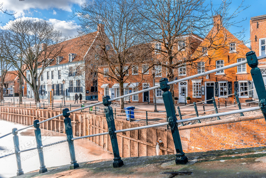 20210212-Häuser  in Greetsiel Ostfriesland Krummhörn Winter 12 Februar 2021 _2