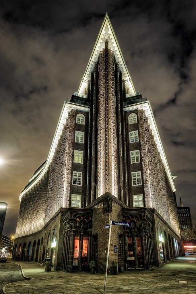 Chilehaus | Außenansicht des Chilehauses in Hamburg