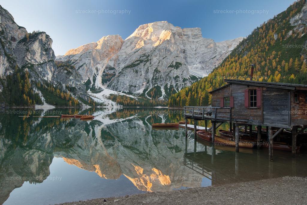Pragser Wildsee  | Pragser Wildsee Dolomiten