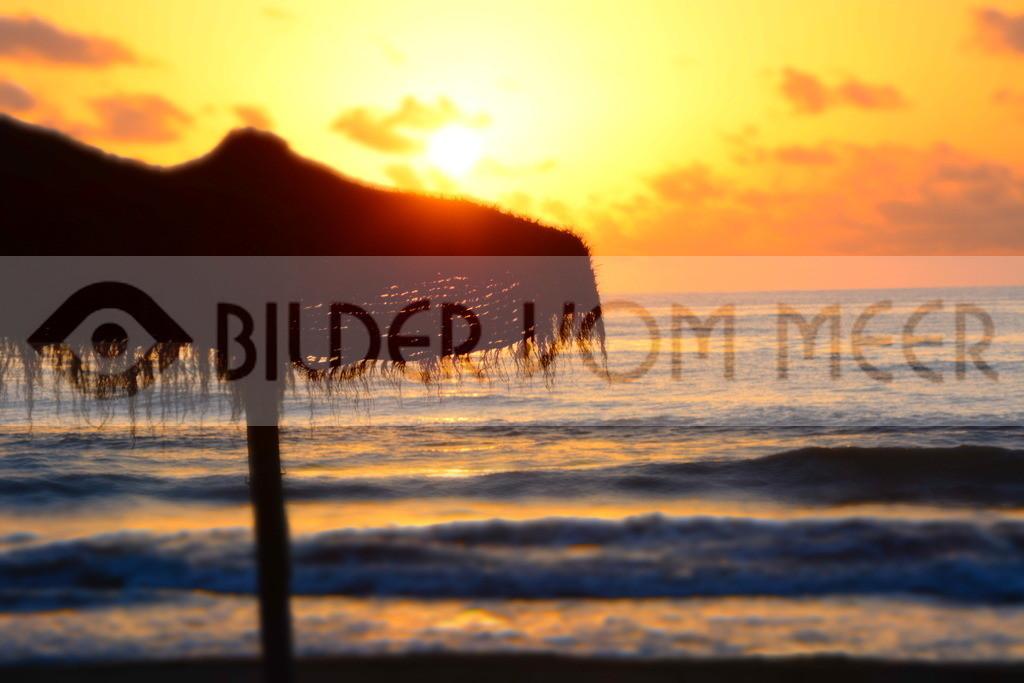 Strand Bilder | Strand Bilder vom Sonnenaufgang am Meer