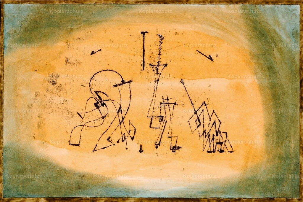 Klee_ Paul (1879-1940) - Abstract Trio 1923