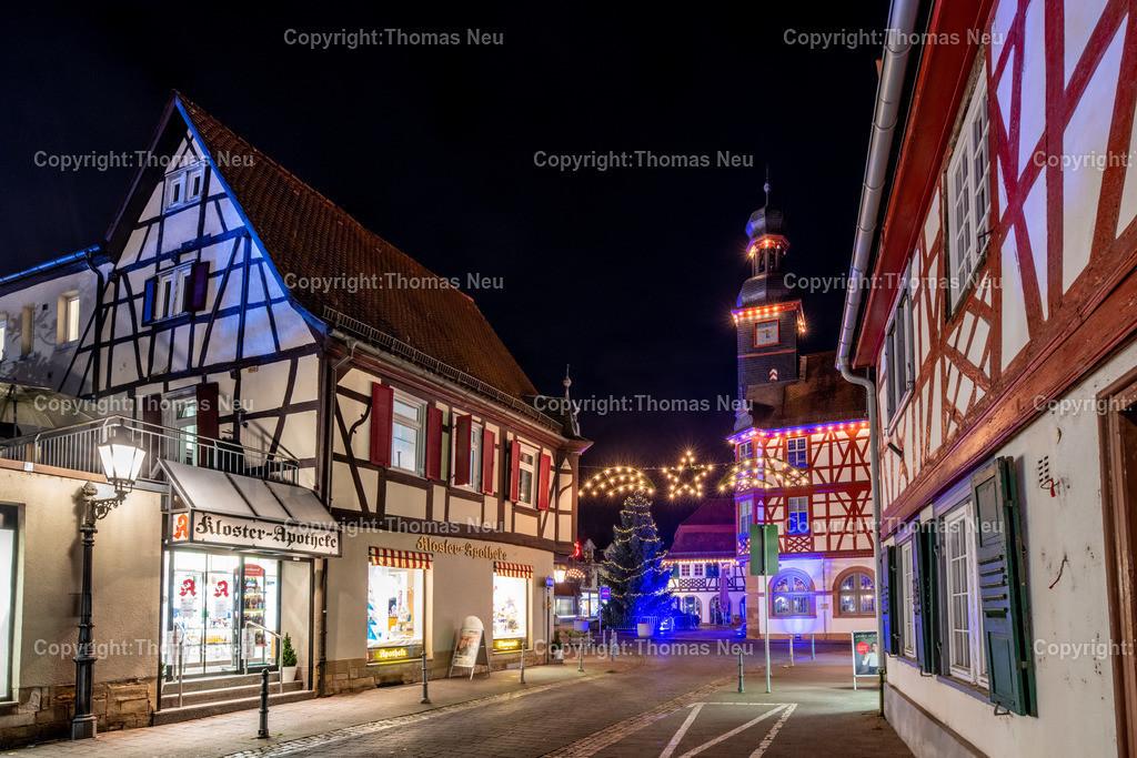 DSC_4203-HDR | ble,Lorsch, blaues Weihnachtswunder, Innenstadt, ,, Bild: Thomas Neu