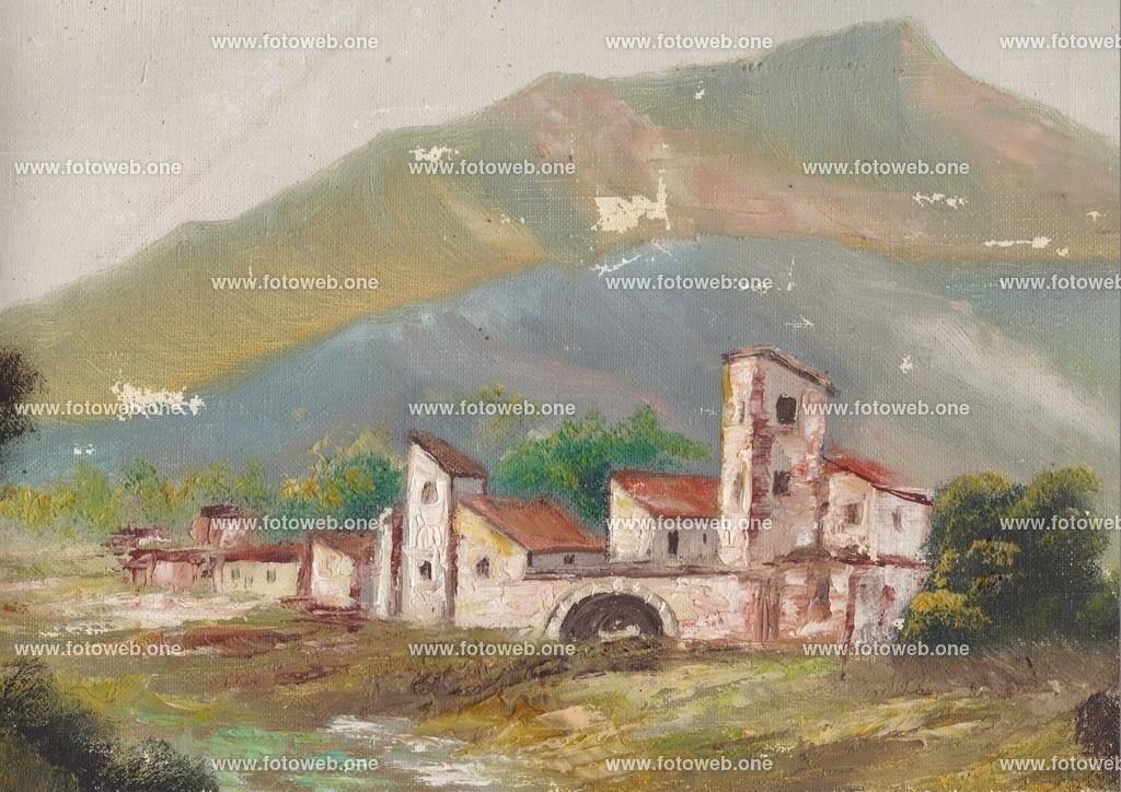 malerei_20181008_0002 | Das Dorf