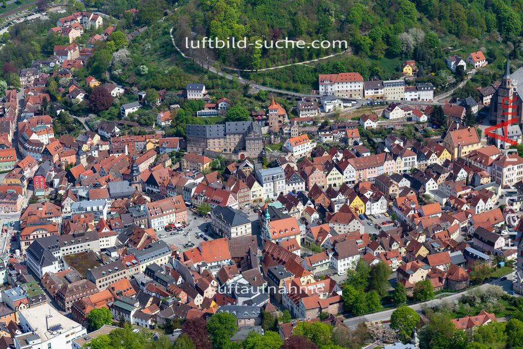 kulmbach-18-73   aktuelles Luftbild von  Kulmbach - Luftaufnahme wurde 2018 von https://frankenair.de mittels Flugzeug (keine Drohne) erstellt.