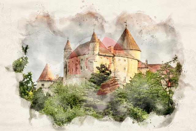 Schloss Schwertberg | Eines der schönsten Schlösser in unserer Heimat, mal etwas anderer Darstellung
