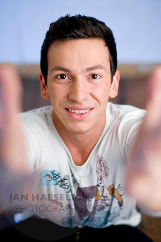 Arnel Taci | Fototermin zur ARD Vorabendserie