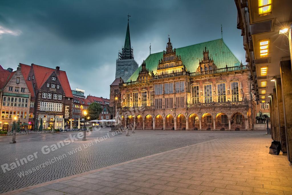 150715-1-Bremen Marktplatz Rathaus