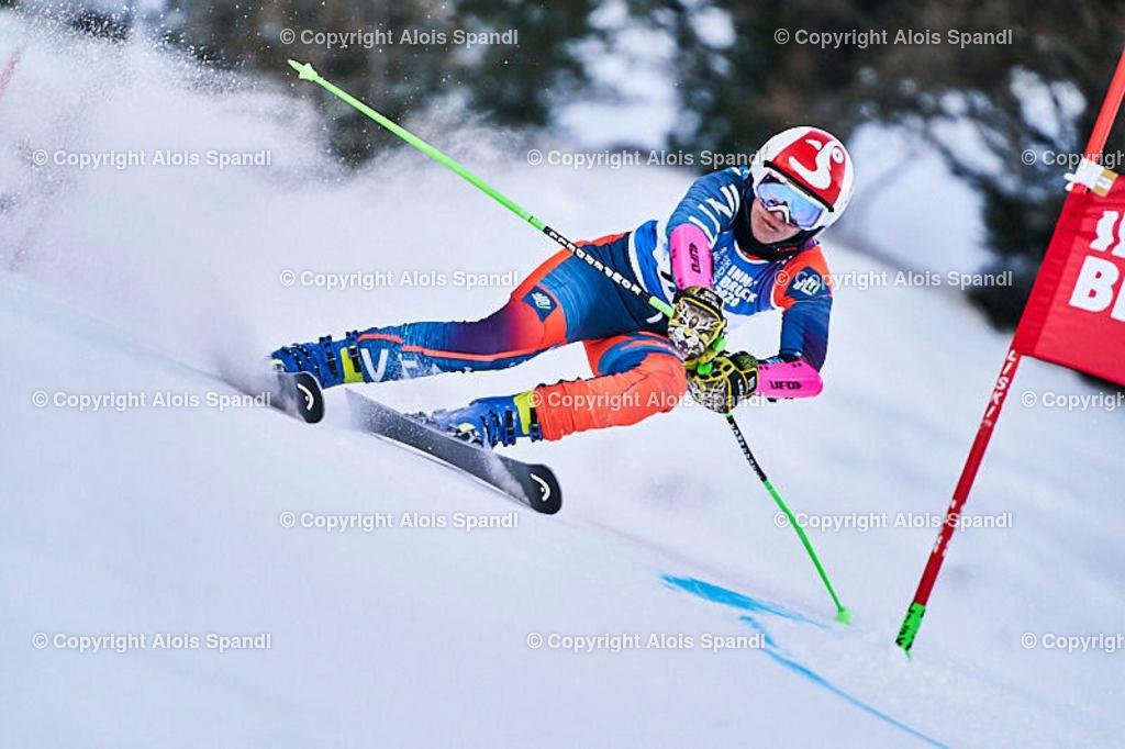 ALS5942_WWMG_GS-II_C | (C) FotoLois.com, Alois Spandl, WinterWorldMastersGames 2020 Innsbruck, Giant Slalom-II Gruppe C Damen, Patscherkofel Olympiaabfahrt, Mi 15. Jänner 2020.