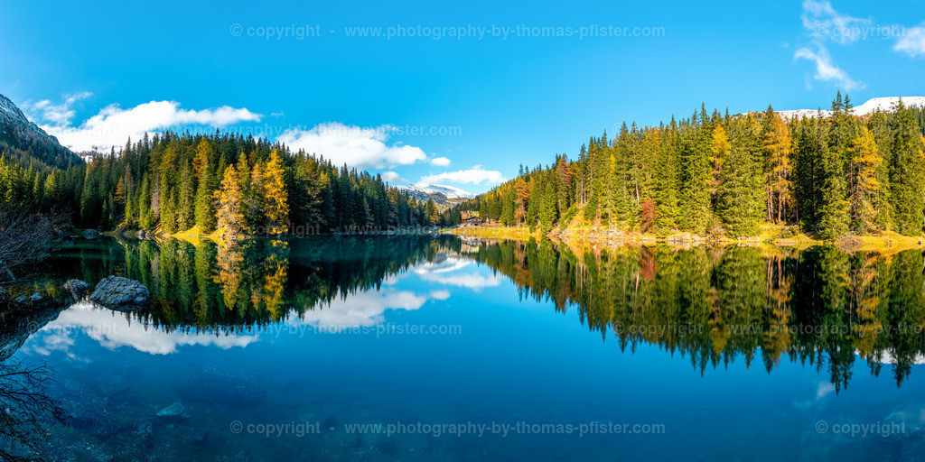 Oberberger See im Herbst Panorama-1