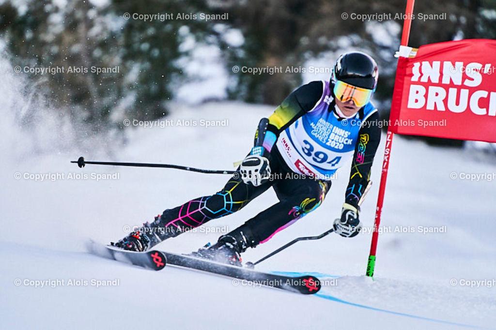 ALS5646_WWMG_GS-II_C | (C) FotoLois.com, Alois Spandl, WinterWorldMastersGames 2020 Innsbruck, Giant Slalom-II Gruppe C Damen, Patscherkofel Olympiaabfahrt, Mi 15. Jänner 2020.