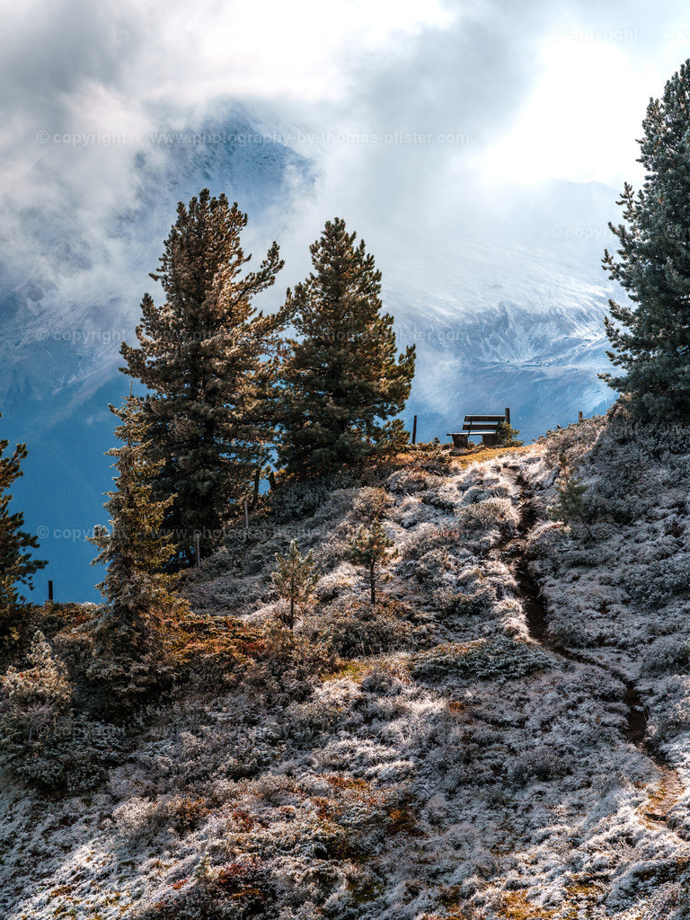 Erster Schnee am Penken im Zillertal