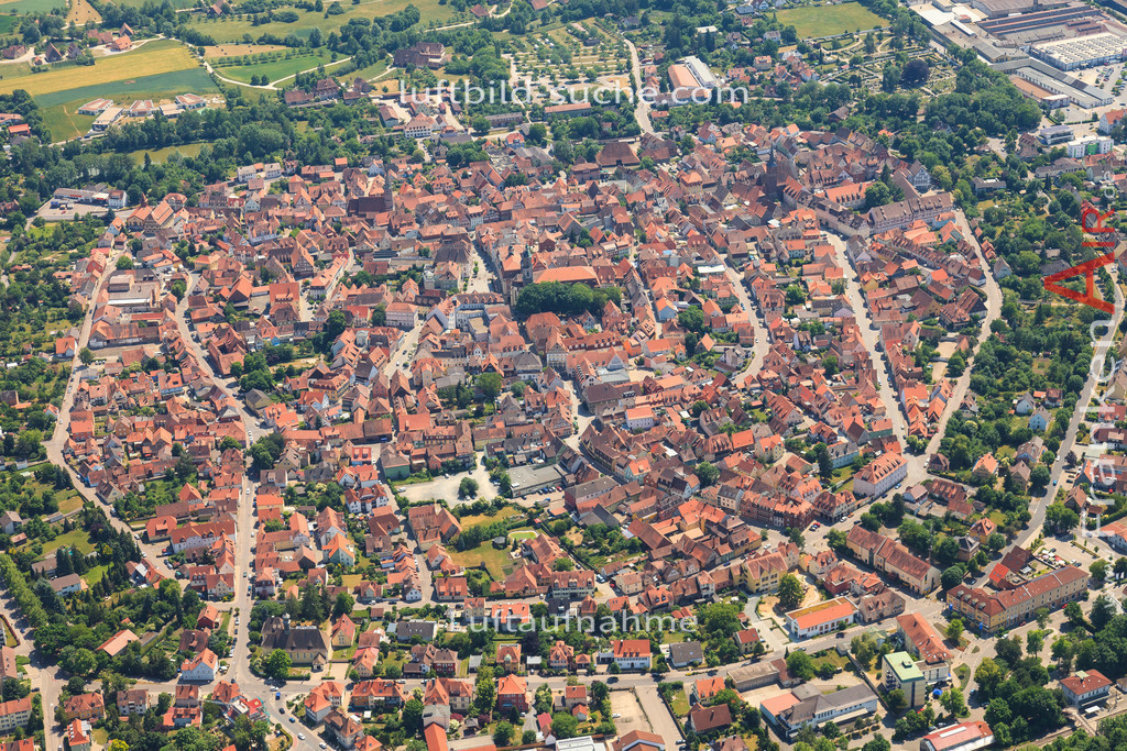 altstadt-bad-windsheim-2015-1397 | Luftbild von Altstadt Bad-windsheim - Luftaufnahme wurde 2015 von https://frankenair.de mittels Flugzeug (keine Drohne) erstellt - die Geschenkidee