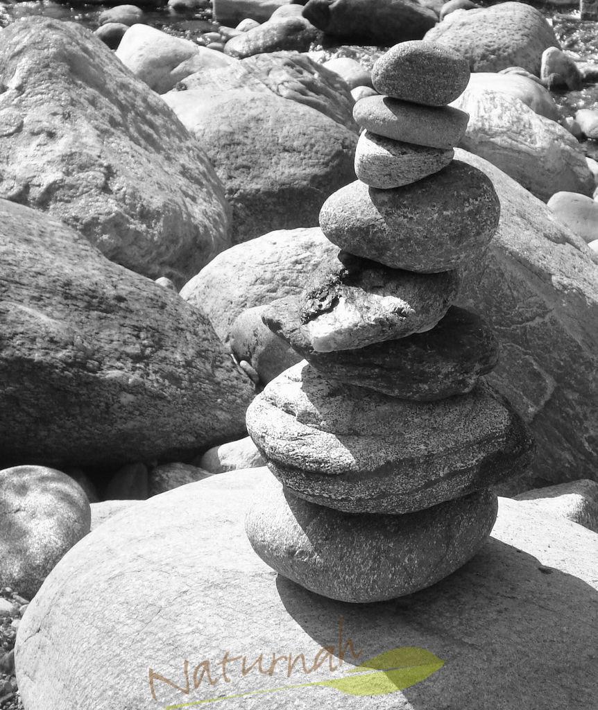 Steinernes Glück | Aufgetürmte Freude