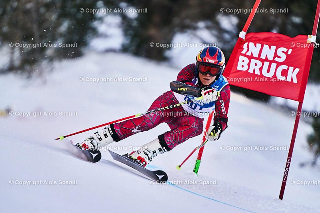 ALS5979_WWMG_GS-II_C | (C) FotoLois.com, Alois Spandl, WinterWorldMastersGames 2020 Innsbruck, Giant Slalom-II Gruppe C Damen, Patscherkofel Olympiaabfahrt, Mi 15. Jänner 2020.