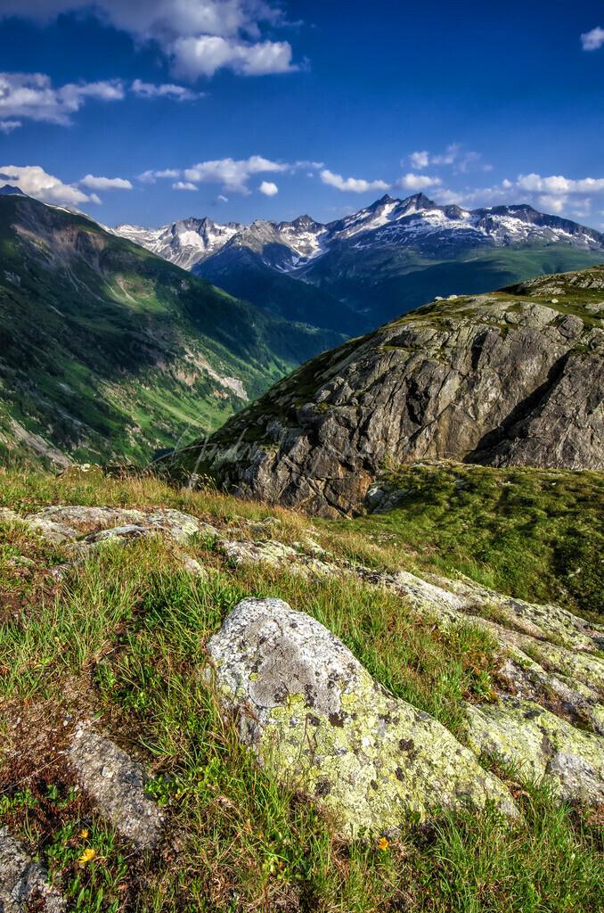 Sommerliche Berglandschaft