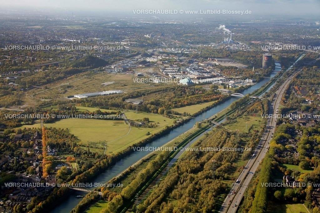 ES10103742 |  Oberhausen, Emscher 160 Kläranlage Läppkes Mühlenbach Ruhrgebiet, Nordrhein-Westfalen, Germany, Europa