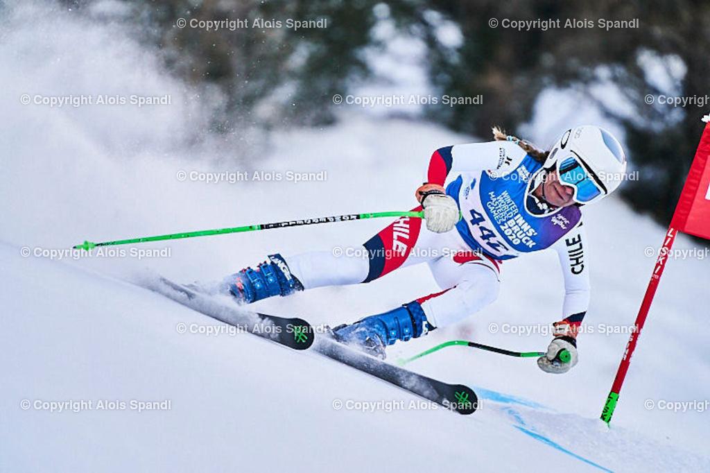ALS5891_WWMG_GS-II_C | (C) FotoLois.com, Alois Spandl, WinterWorldMastersGames 2020 Innsbruck, Giant Slalom-II Gruppe C Damen, Patscherkofel Olympiaabfahrt, Mi 15. Jänner 2020.