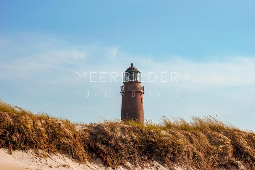 Leuchtturm Ostsee: Fotoleinwand