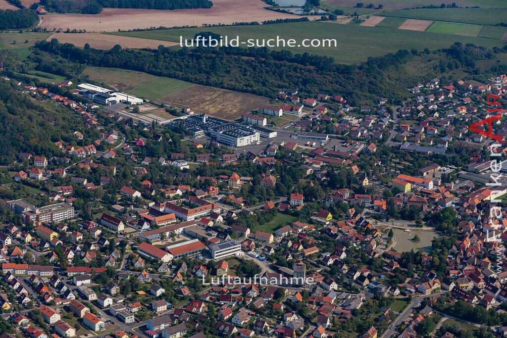 scheinfeld-19-767   aktuelles Luftbild von  Scheinfeld - Luftaufnahme wurde 2019 von https://frankenair.de mittels Flugzeug (keine Drohne) erstellt.