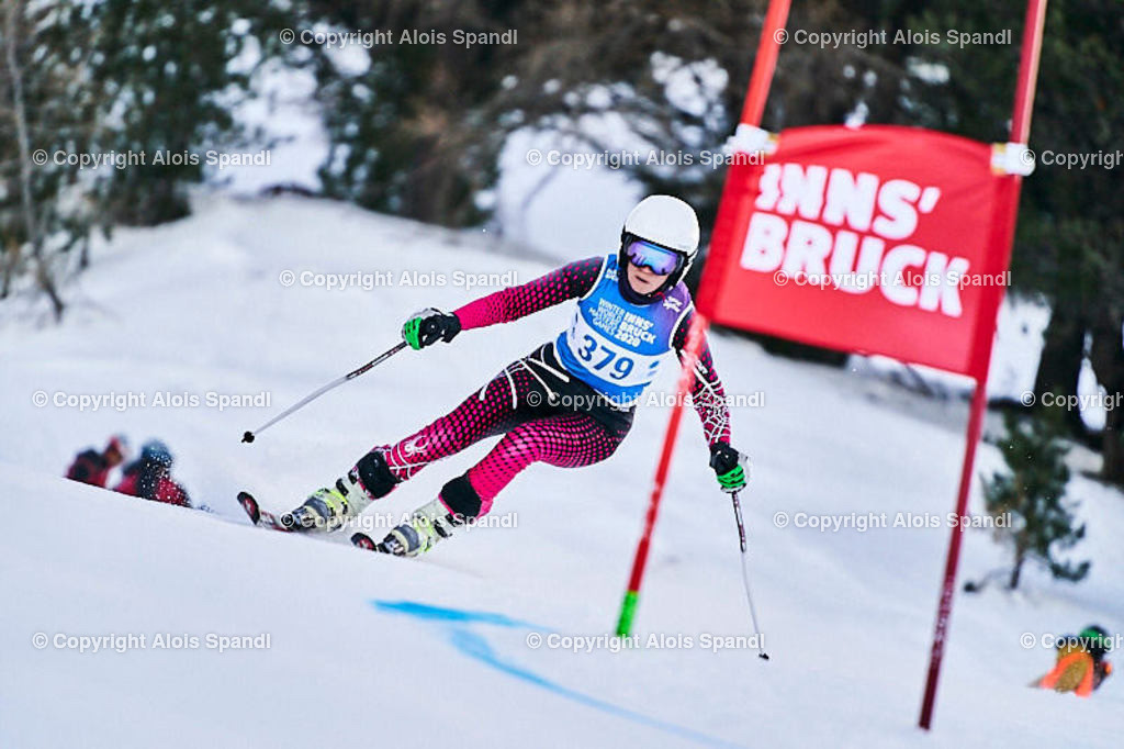 ALS5575_WWMG_GS-II_C | (C) FotoLois.com, Alois Spandl, WinterWorldMastersGames 2020 Innsbruck, Giant Slalom-II Gruppe C Damen, Patscherkofel Olympiaabfahrt, Mi 15. Jänner 2020.