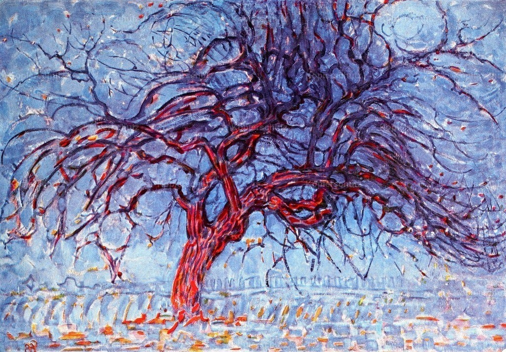 Mondrian_ Piet (1872-1944) - The Red Tree 1909-10