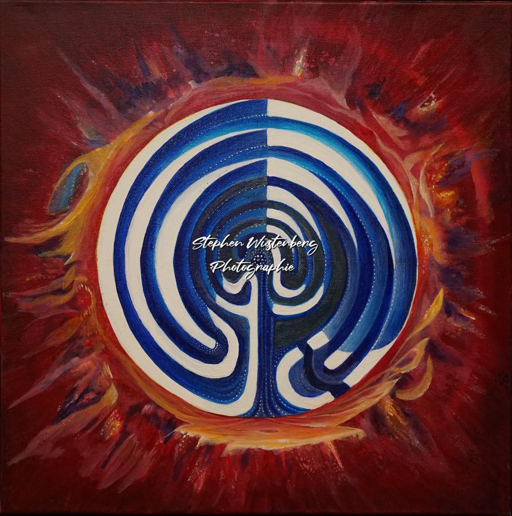 Gingel-0049 Labyrinth | Roland Gingel Artwork @ Gravity Boulderhalle, Bad Kreuznach  Bilder dieser Galerie sind noch nicht im Verkauf. Wenn Sie Repros erwerben möchten, finden Sie diese in der Untergalerie