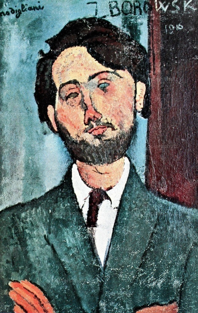 Modigliani_ Amedeo (1884-1920) - Portrait of Zborowski 1916