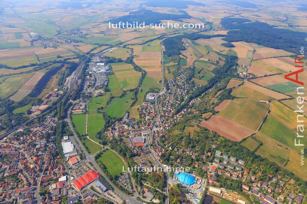 neustadt-aisch-2016-5676 | Luftbild von  Neustadt-aisch - Luftaufnahme wurde 2016 von https://frankenair.de mittels Flugzeug (keine Drohne) erstellt - die Geschenkidee