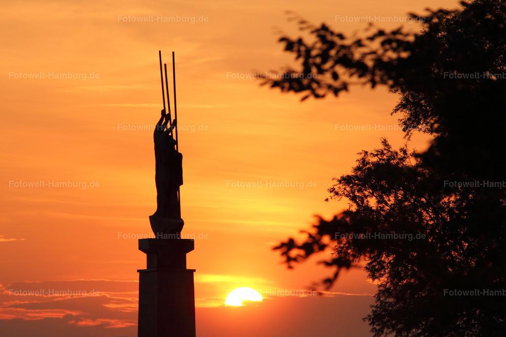 11263066 - Sonnenuntergang an der Alster